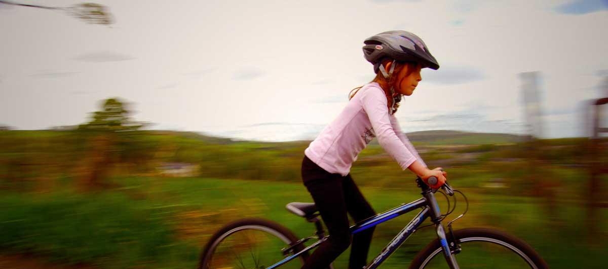 A quel âge apprendre à faire du vélo?