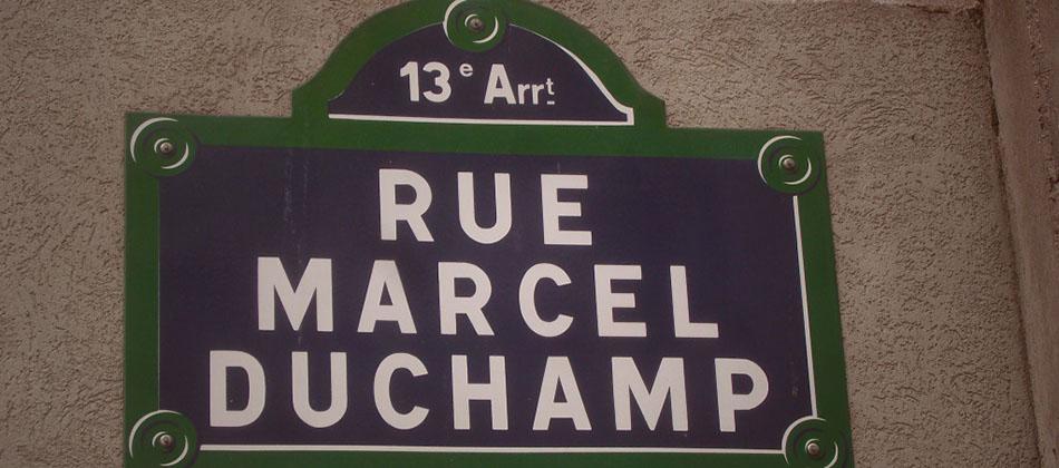Histoire: Marcel Duchamp fait du vélo