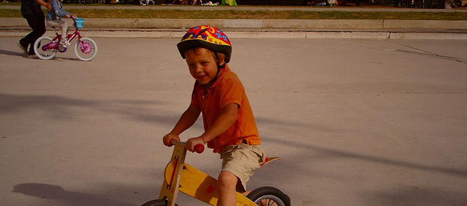 Le retour de la draisienne, le vélo des tout-petits