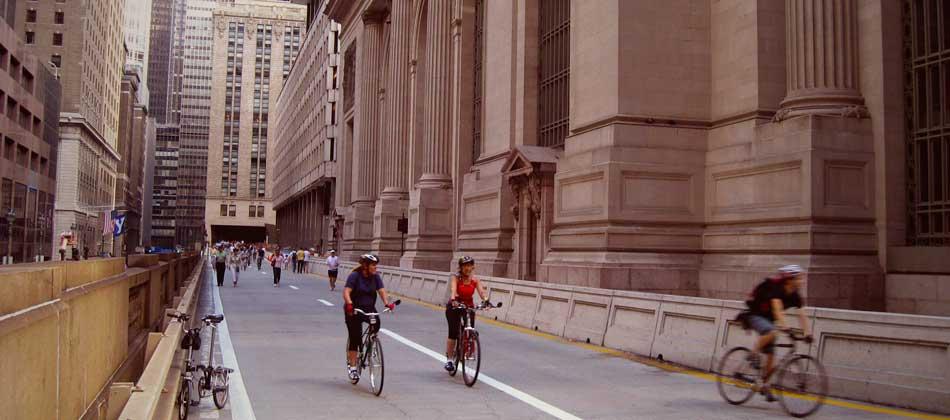 New York à vélo: trois jours par an, c'est la fête!