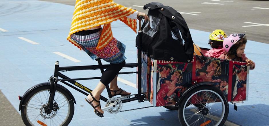 Vélo triporteur
