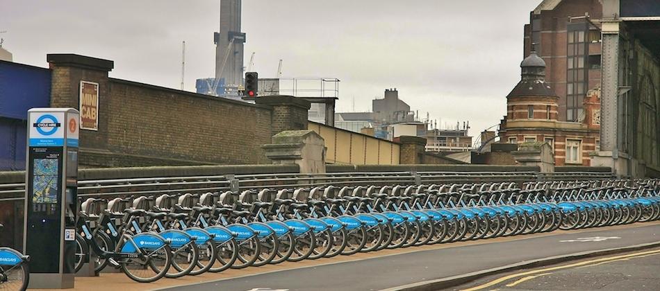 """""""Boris bikes"""": le curieux surnom des vélos en libre service londonien"""