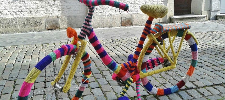 À vos mailles: crochetez-vous un vélo design et tendance