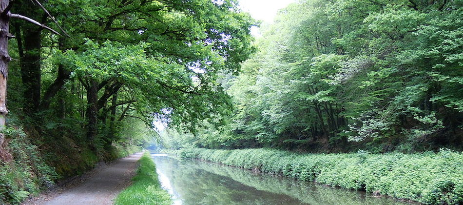 Canaux et vélo: Le canal de Nantes à Brest