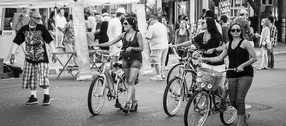 USA: certaines ne font pas de vélo