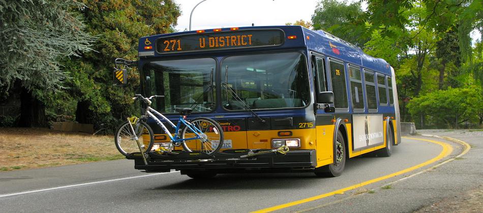 expression cycliste: l'autobus