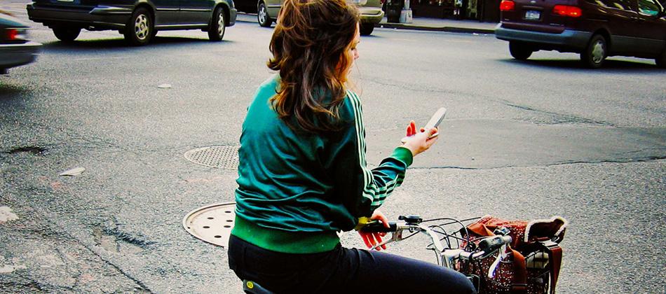 L'utilisation du gsm/portable à vélo