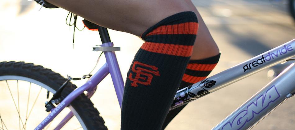 Expression cycliste: avoir la chaussette légère