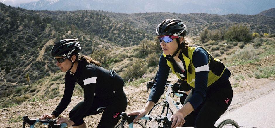 expression cycliste: faire l'élastique