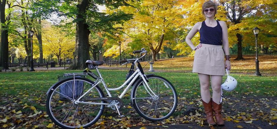 Conseil de mec: faire du vélo en jupe