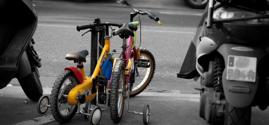 Rouler à vélo avec ses enfants