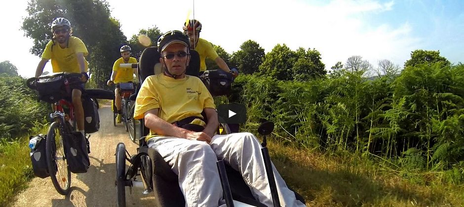 Un tour du monde à vélo contre la sclérose en plaques
