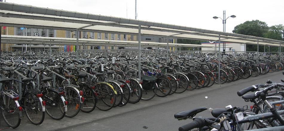 Mon vélo dans le train en Belgique