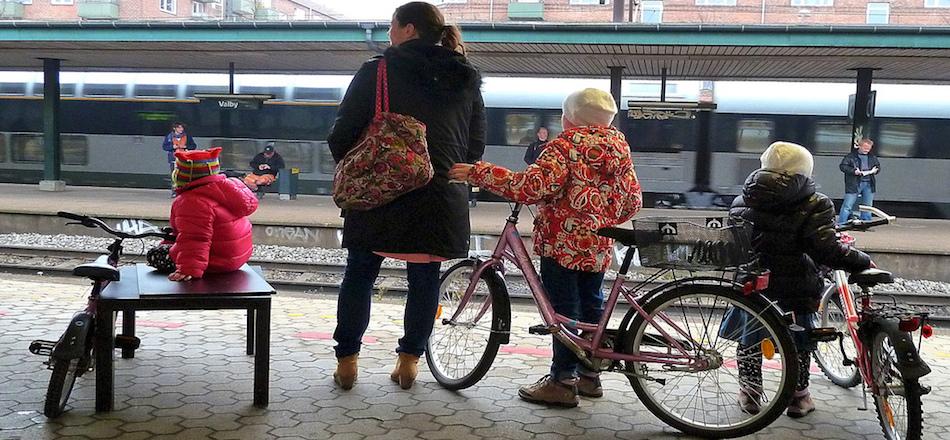 Mon vélo dans le train: les trains Intercités