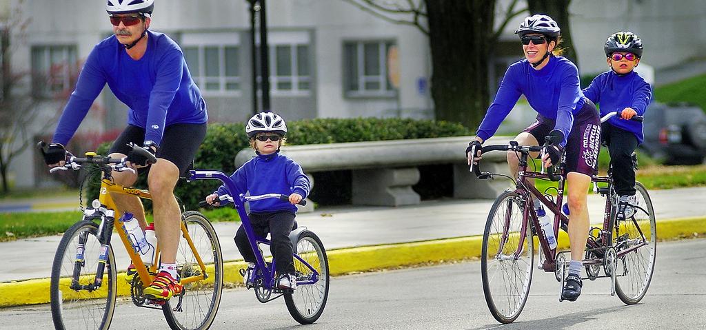 Week-end à vélo et en famille: Amsterdam