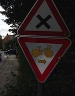 Panneau de signalisation belge