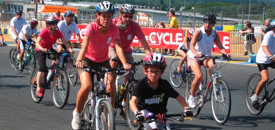 A vélo contre la leucémie