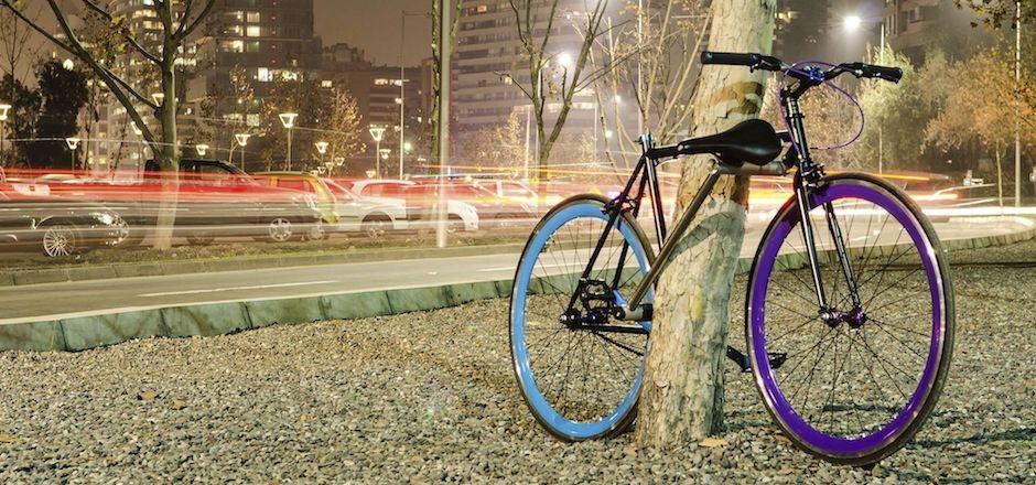 Le vélo-cadenas ou le vélo qu'on ne pouvait pas voler