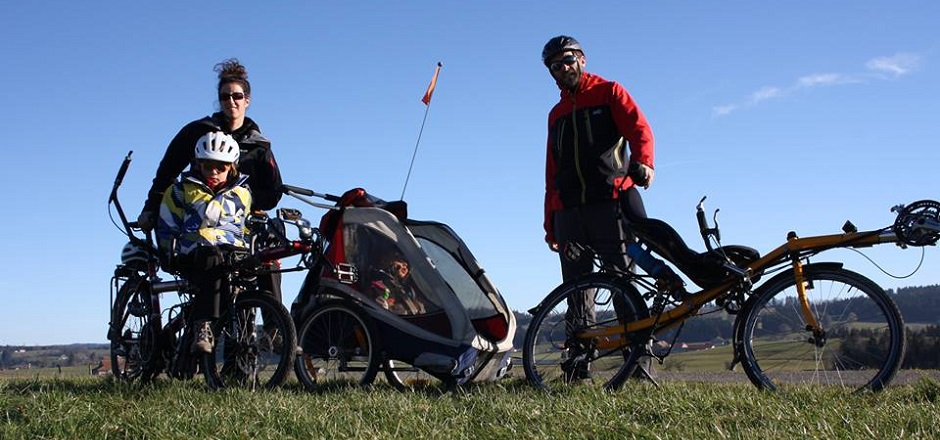 Par 4 chemins à vélo: découvrez le voyage d'une Cyclofamily