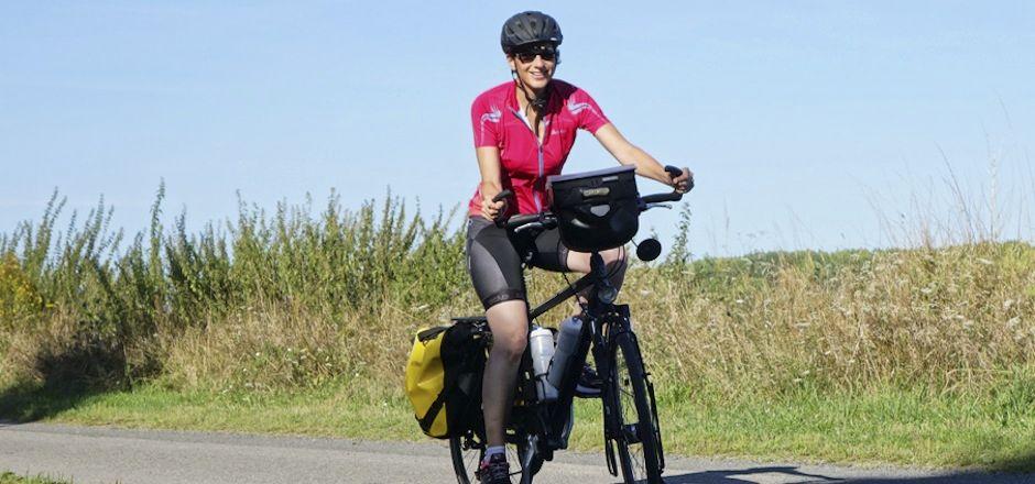Rencontre avec Sandrine: le vélo nomade en toute liberté!
