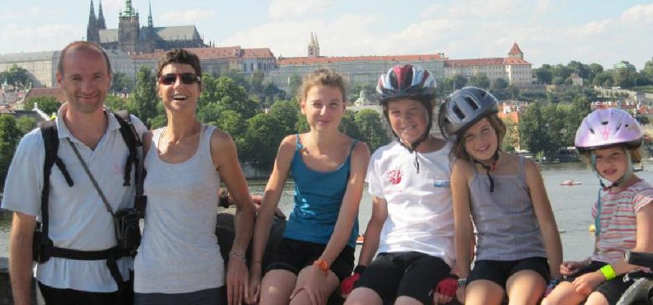 Sixclocatel: une famille à vélo aux 4 coins du globe