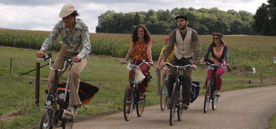 La Savoureuse, une balade à vélo vintage au tempo rétro