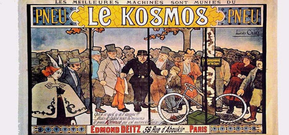 Vente aux enchères de 300 affiches publicitaires sur le vélo
