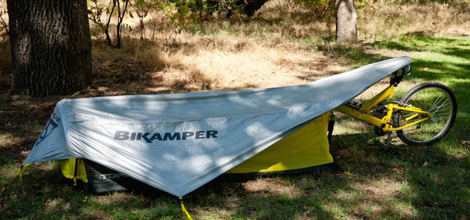 Bikamper tente pour velo