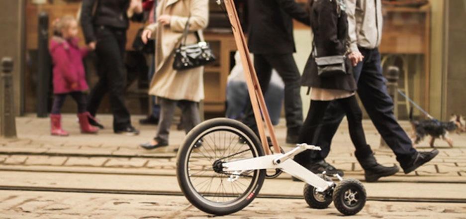Halfbike, moyen de transport adroitement urbain