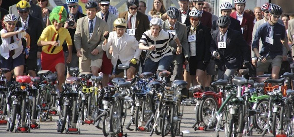 Le Brompton Benelux Championship anime les rues d'Anvers