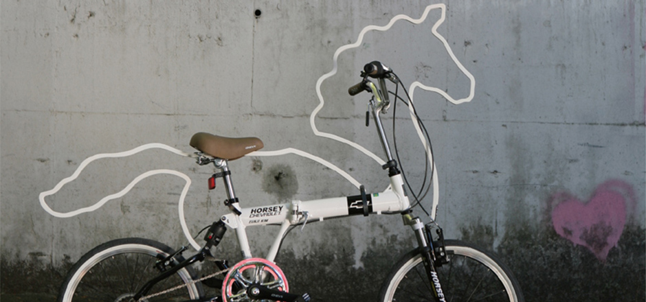 Un vélo licorne, ça vend du rêve