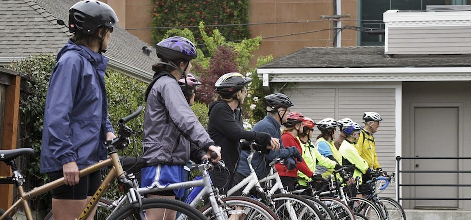 Vélo-écoles: il n'y a pas d'âge pour mettre le pied à la pédale