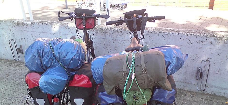 Check-list voyage à vélo