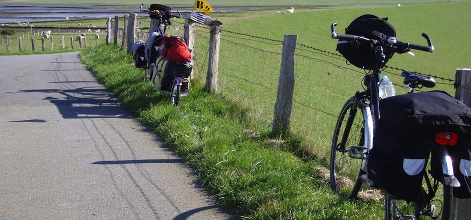 Pour voyager à vélo, j'assure!