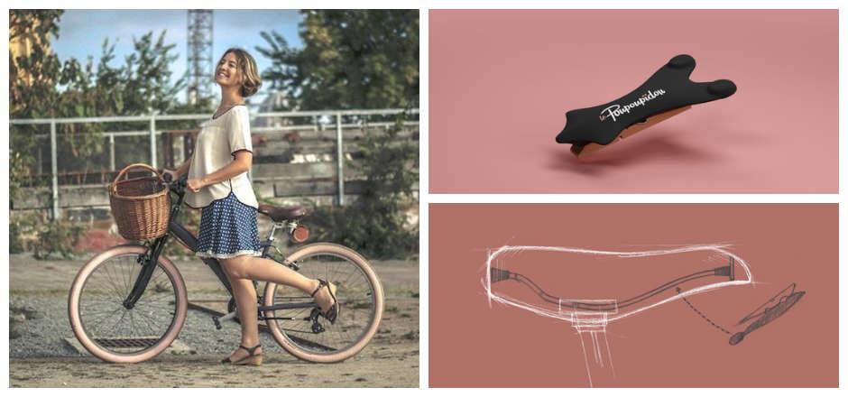 Le Poupoupidou®: un must pour faire du vélo en jupe!