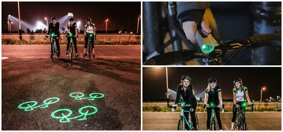 Blaze Laserlight, un éclairage vélo qui voit loin