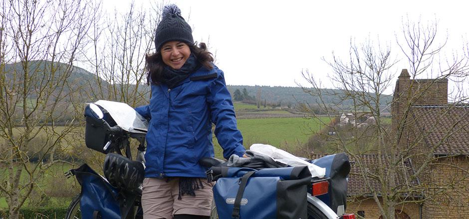 Anita cycliste urbaine