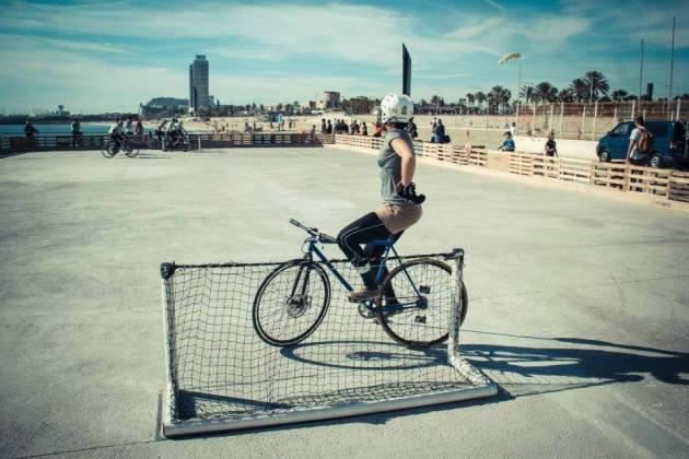 Bike polo féminin