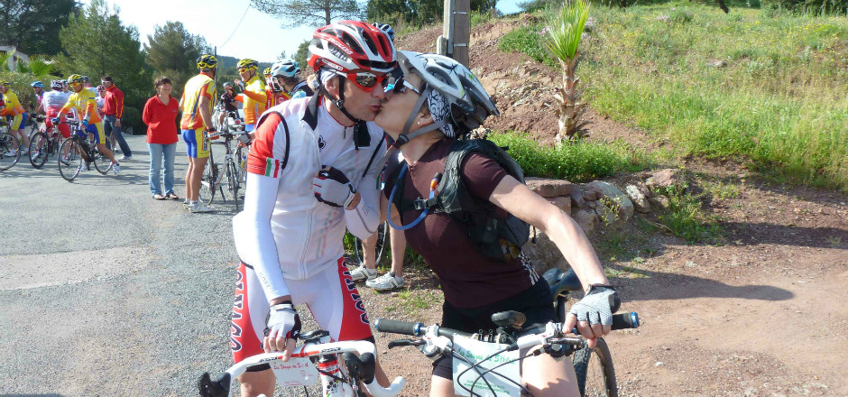 amour deux roues Pat et Andre