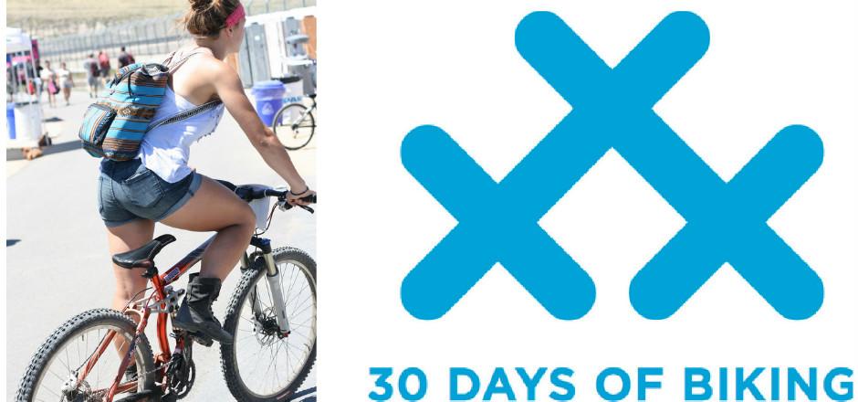 30 Days of Biking: roulez tous les jours en avril