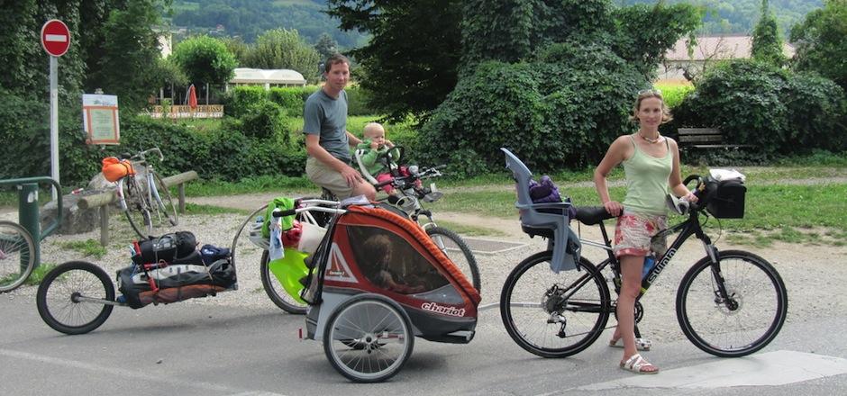 Organiser un voyage à vélo en famille