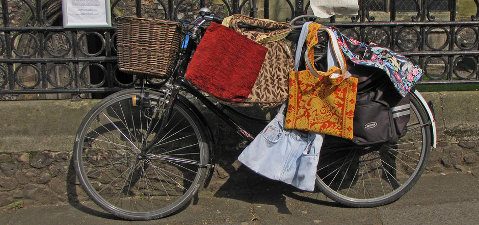 Choisir le poids de ses bagages à vélo