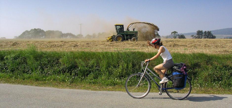 Ce que cyclotourisme veut dire...