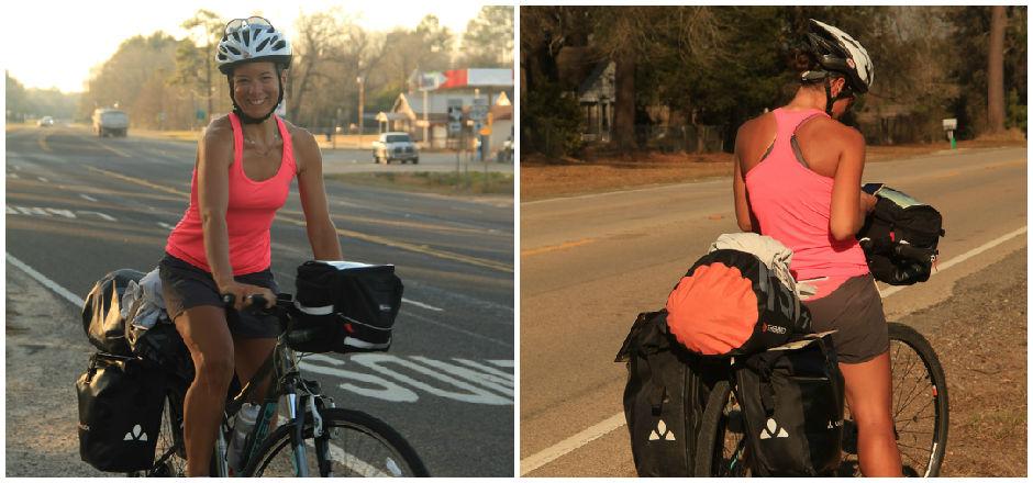 À vélo pour un road trip aux États-Unis: le récit de Valérie...