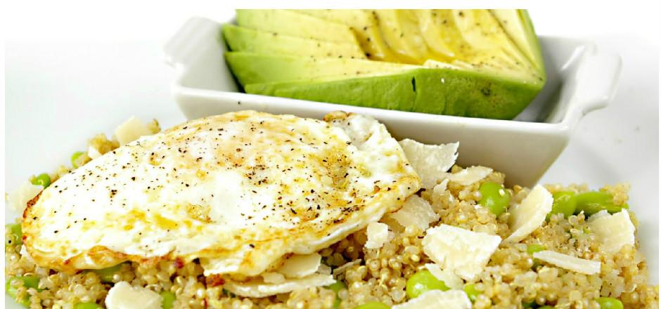 Salade quinoa, edamames, avocat: la salade énergie du cycliste