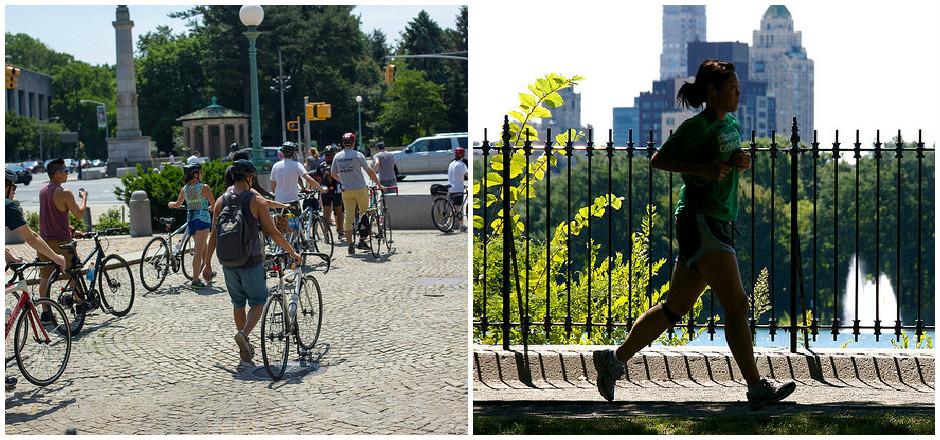 Mes vacances sportives: jamais sans mes baskets ou mon vélo!