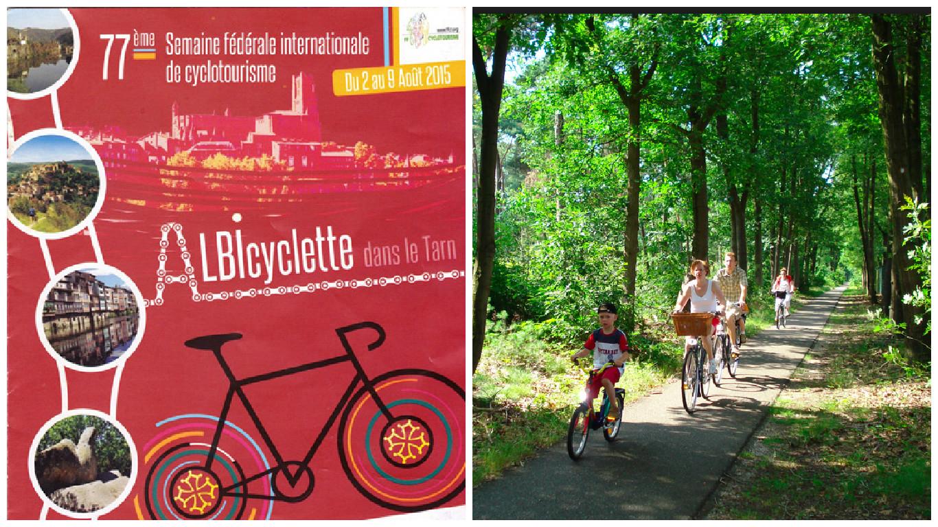 ALBIcyclette: Semaine fédérale de cyclotourisme
