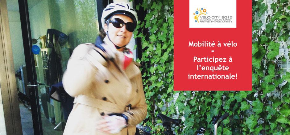 Répondez à l'enquête #EFDV & Velo-city 2015 sur la mobilité à vélo