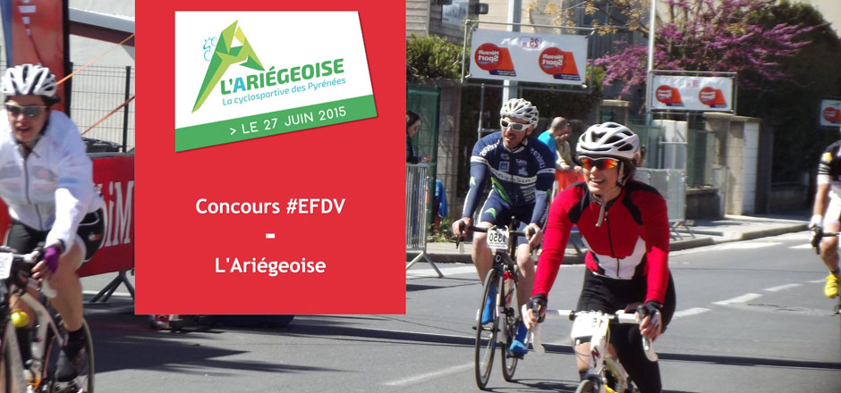 Gagnez des inscriptions gratuites pour la cyclosportive de L'Ariégeoise!
