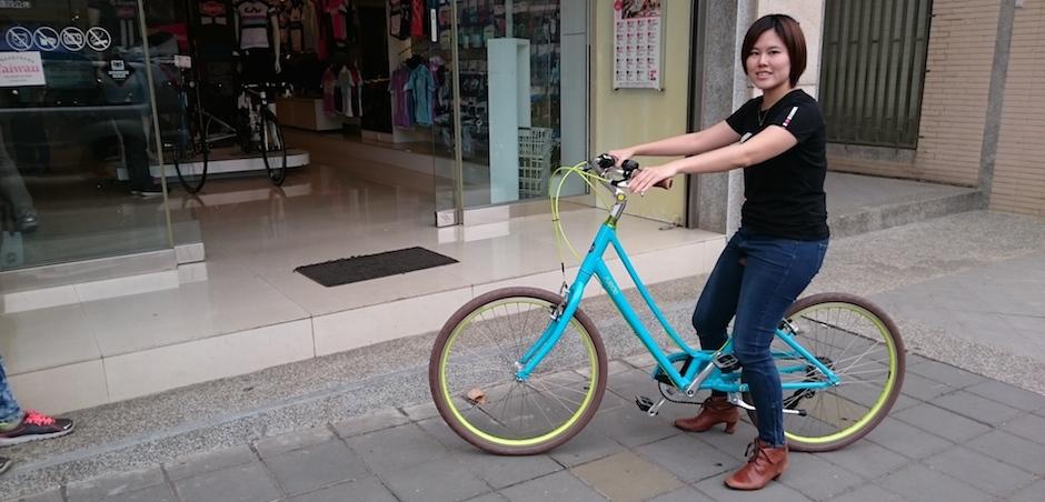 Mon premier vélo: un modèle spécial « débutantes »